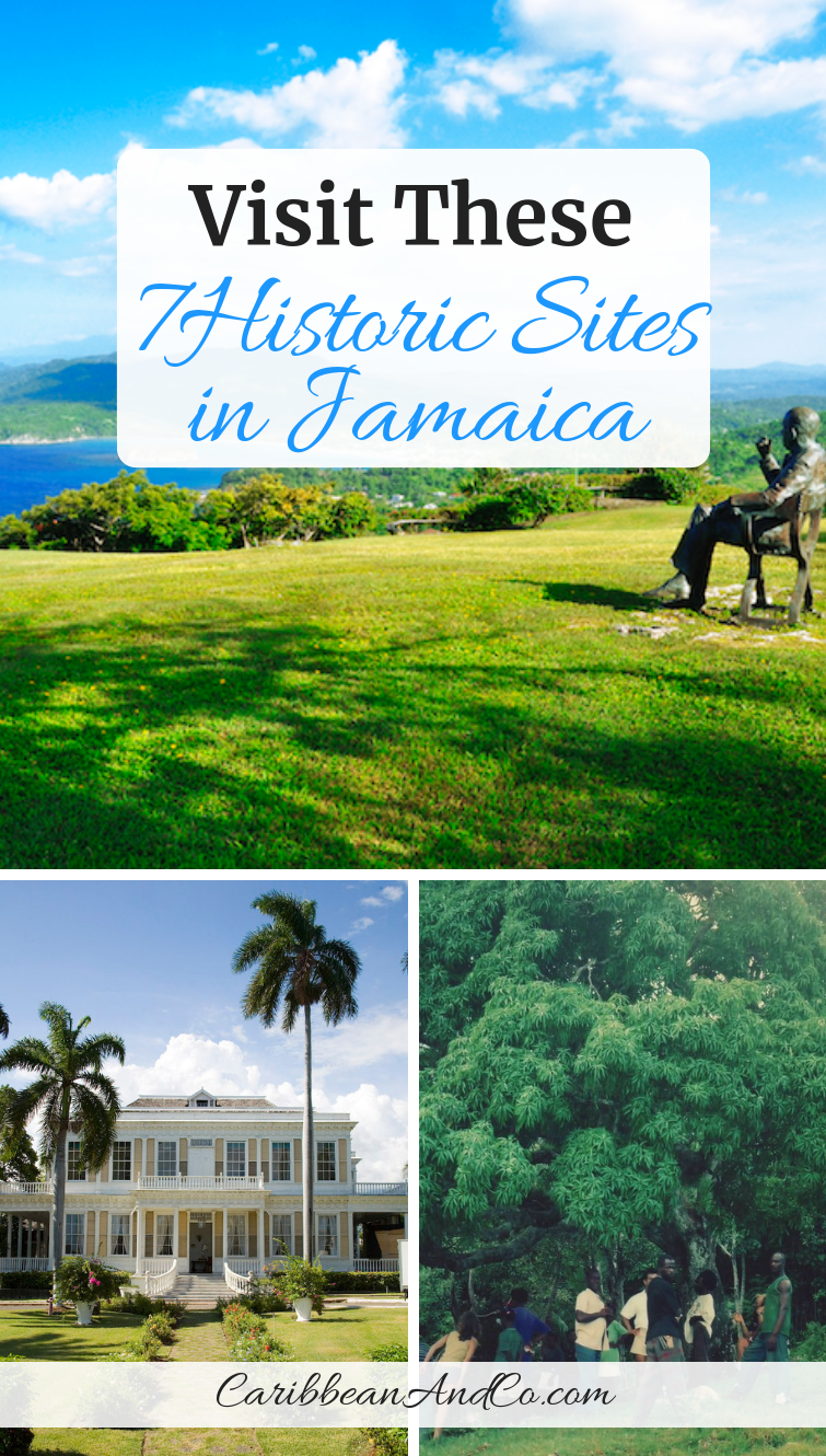Check out and visit these seven historic sites in Jamaica that provide an insightful look into the country's past and helped to shape present-day. #Jamaica #VisitJamaica #HistoricalSites #HistoricSites #HistoricSitesInJamaica #Caribbean #CaribbeanTravel