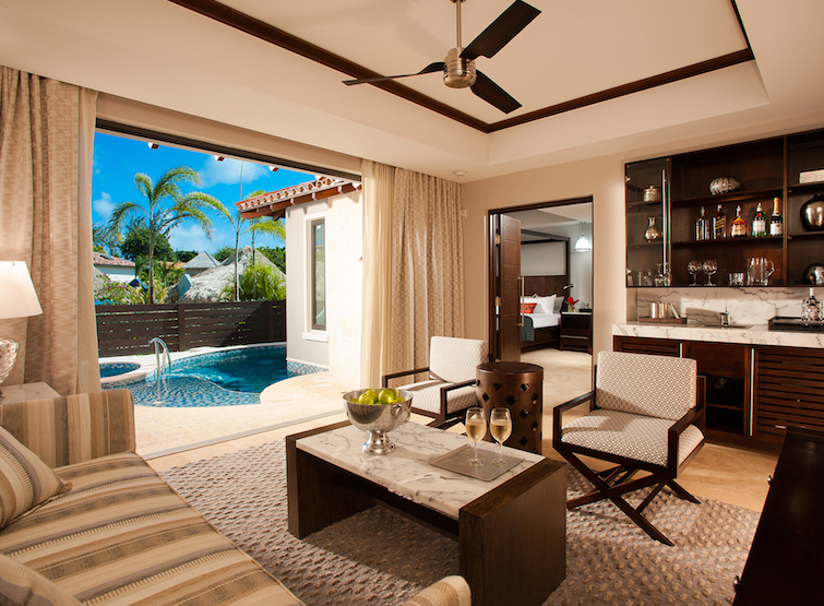 Grenada Hotel - Sandals LaSource Grenada South Seas Butler Suite. Photo Credit: © Sandals Resorts.