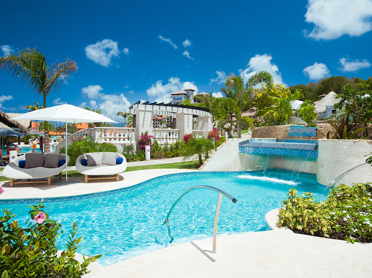 Grenada Hotel - Sandals LaSource Grenada South Seas Village. Photo Credit: © Sandals Resorts.