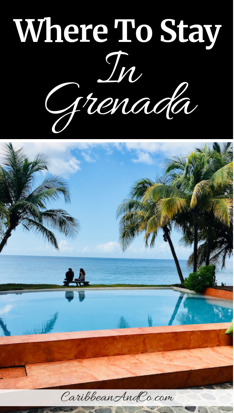 Check out this post to find out where to stay in Grenada. The list includes 5 of the best resorts in Grenada, spice island of the Caribbean. #GrenadaHotels #GrenadaResorts