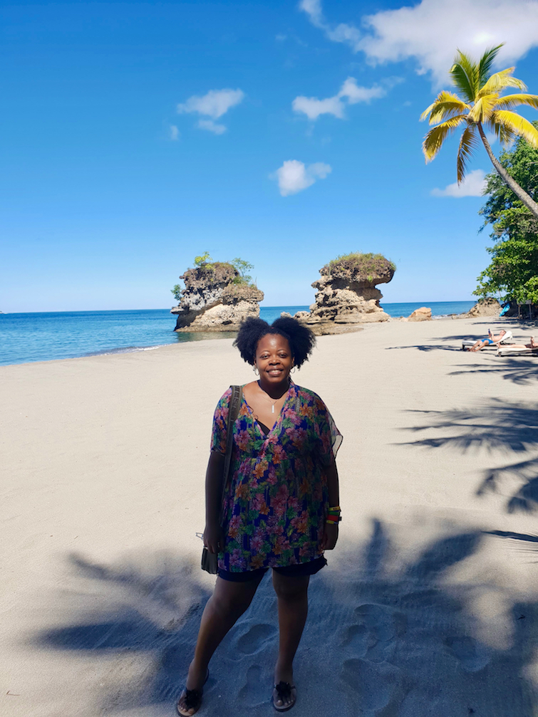Jade Mountain Resort in Saint Lucia: UB at Anse Mamin Beach.