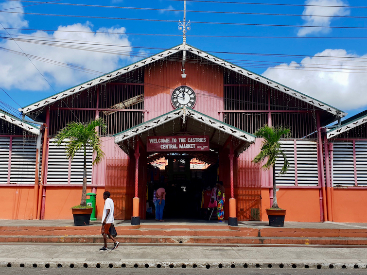 Things To Do In St Lucia: Shop at Castries Central Market