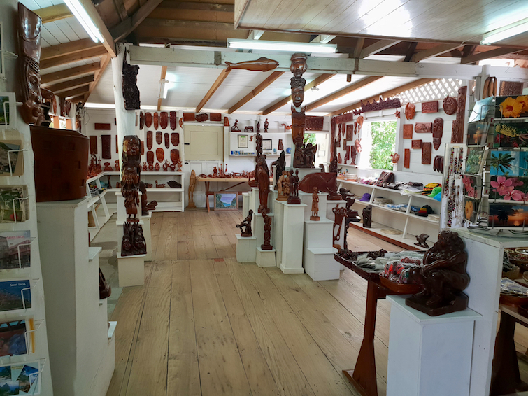 Things To Do In St Lucia: Shop at Eudovic Art Studio.