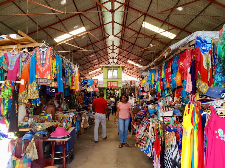 Things To Do In St Lucia: Shop for souvenirs and trinkets at Castries Central Market.