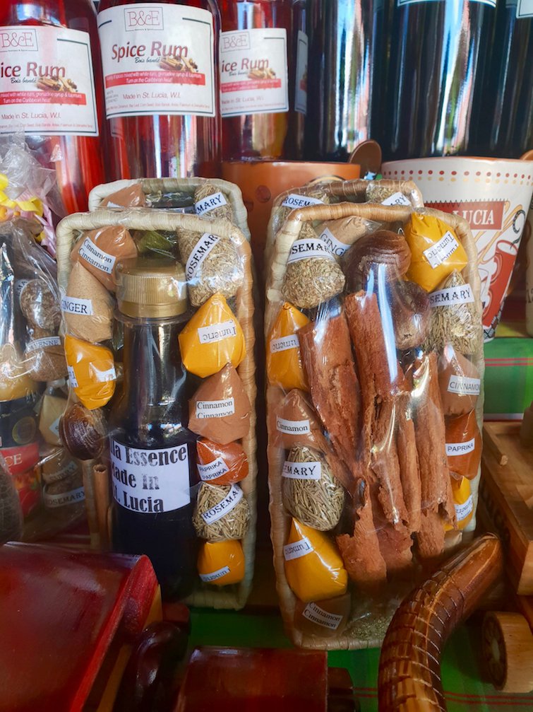Things To Do In St Lucia: Shop for spices at Castries Central Market.