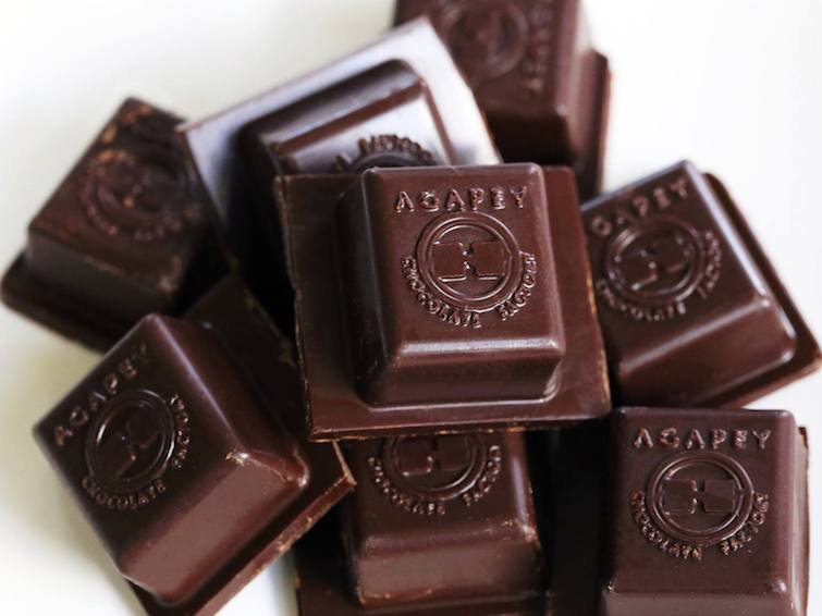 Caribbean Chocolate Brands: Agapey Chocolate Factory.