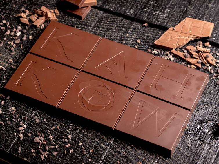Caribbean Chocolate Brands: Kah Kow.