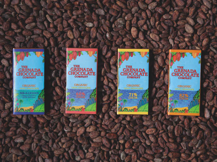 Caribbean Chocolate Brands: The Grenada Chocolate Company.