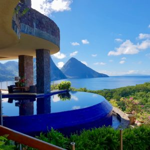 Jade Mountain Resort St Lucia: JD4 Sun Infinity Pool Sanctuary.