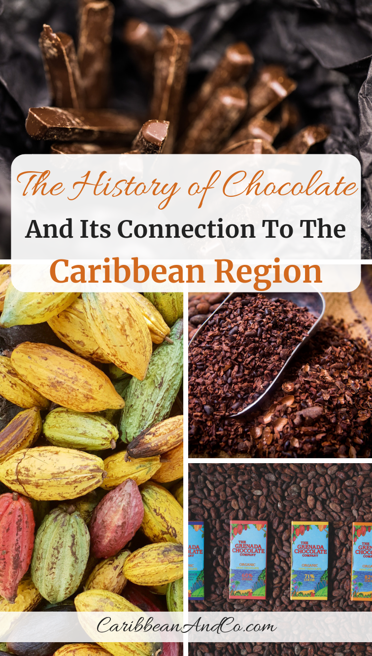 Globally, chocolate is a billion-dollar industry, and to fully understand the history of chocolate is to learn about its connection to the Caribbean region. #Chocolate