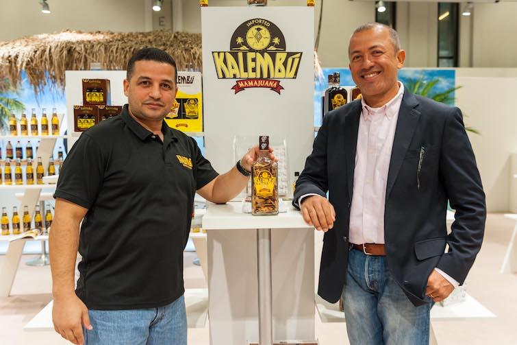 Kalembu founders Julio Astacio and Jack Astacio at Anuga. Photo Credit: © Caribbean Development Export Agency.