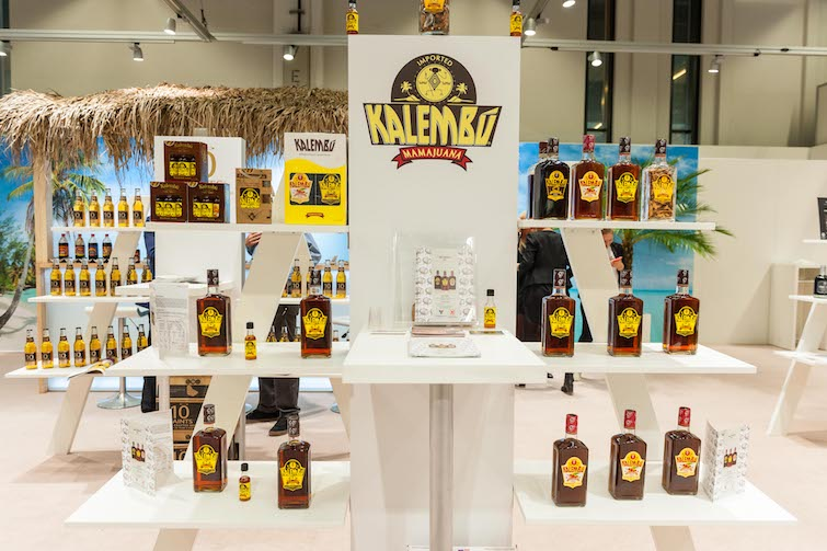 Kalembu products on display at Anuga. Photo Credit: © Caribbean Development Export Agency.