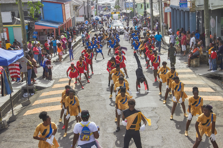 Antigua Carnival: Majorettes. Photo Credit: © Antigua Barbuda Festival Commission.