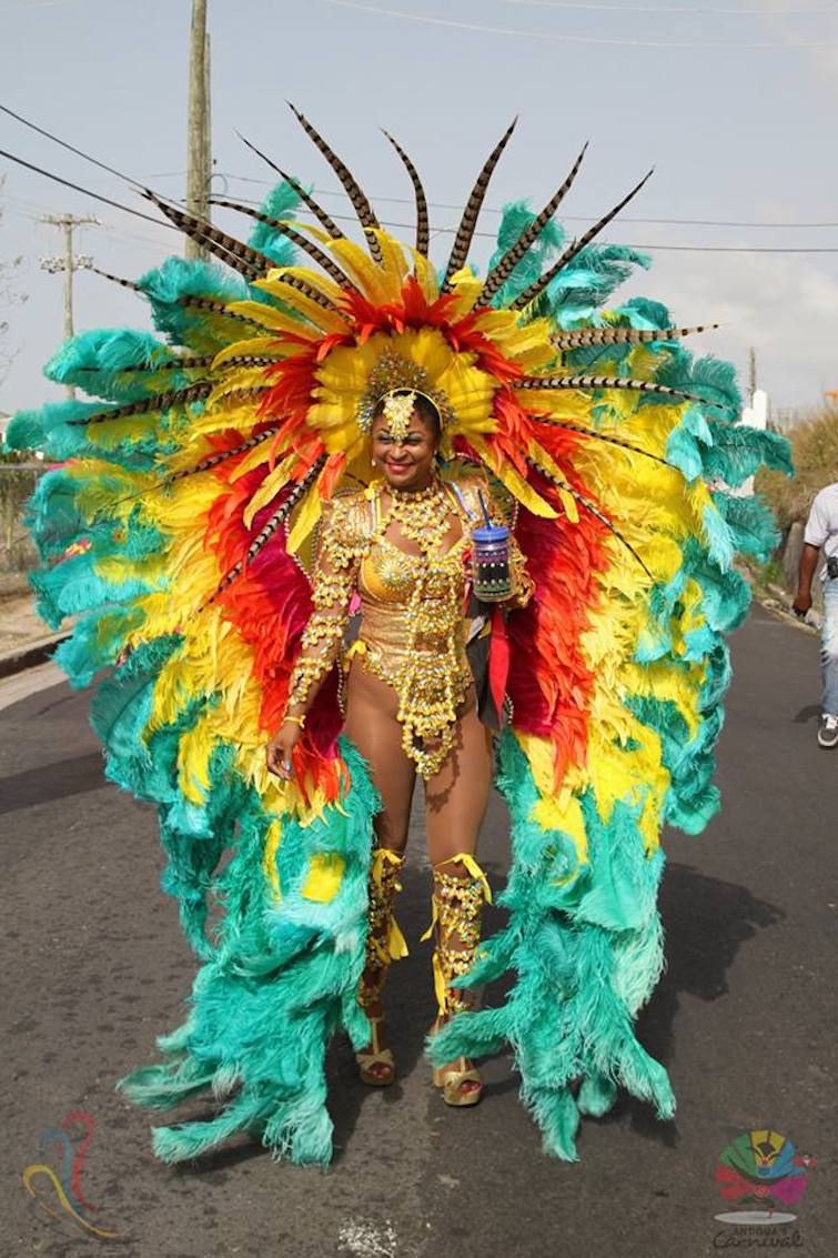 Antigua Carnival: Tuesday Mas Queen of the Band (Myst Carnival). Photo Credit: © Antigua Barbuda Festival Commission.