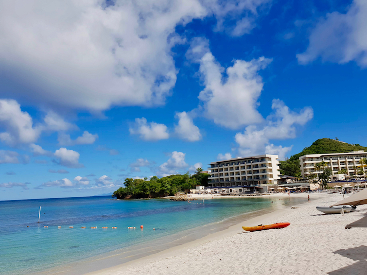 Beach at Royalton Saint Lucia Resort & Spa.