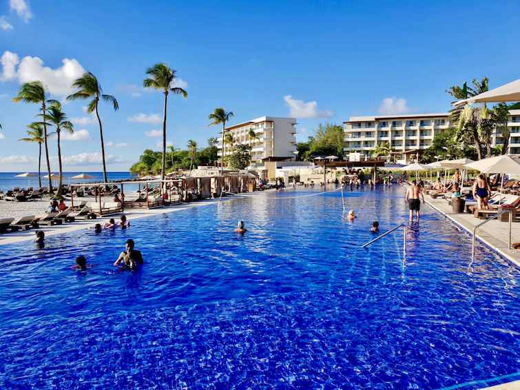 Main Pool at Royalton Saint Lucia Resort & Spa.