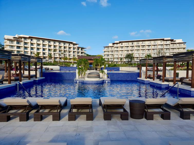Pool 2 at Royalton Saint Lucia Resort & Spa.