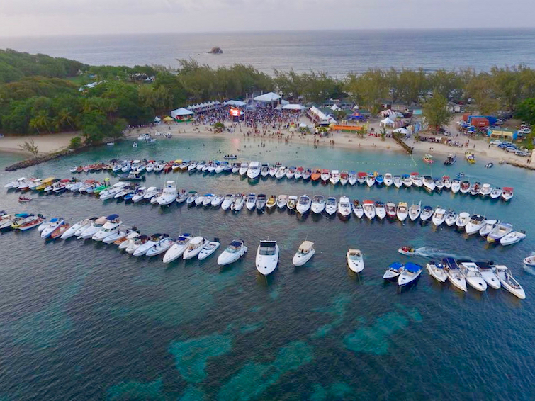 Mercury Fest at Pigeon Island National Landmark in Saint Lucia