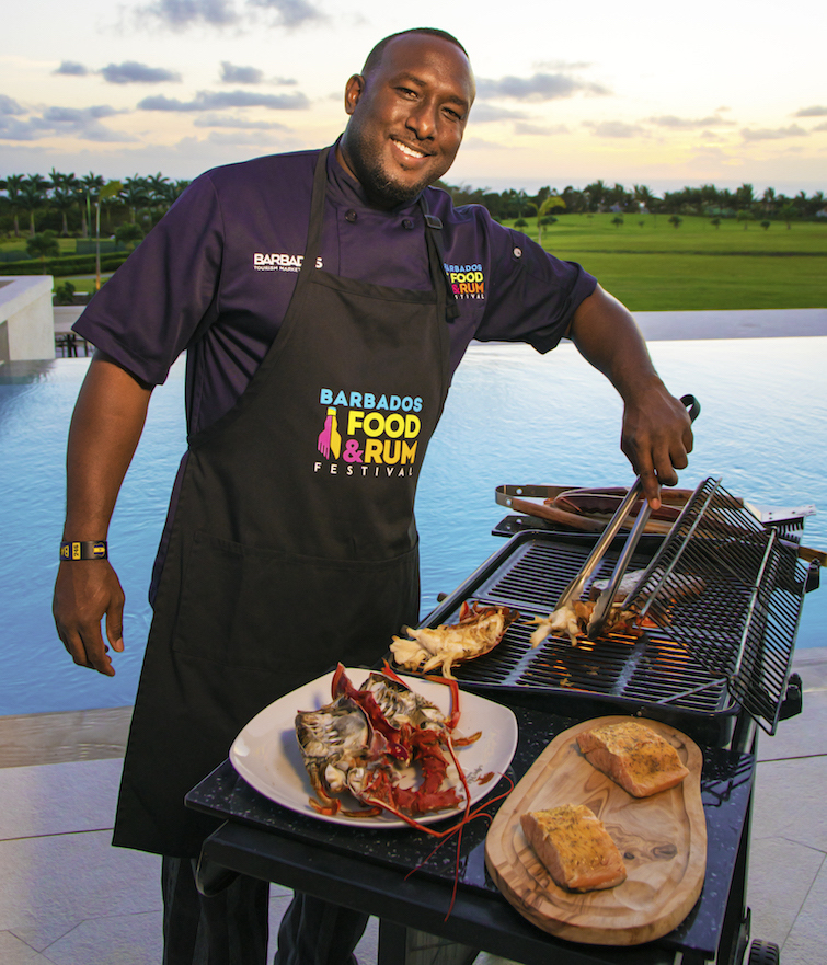 Chef at Barbados Food & Rum Festival. Photo Credit: © Barbados Tourism Marketing Inc.