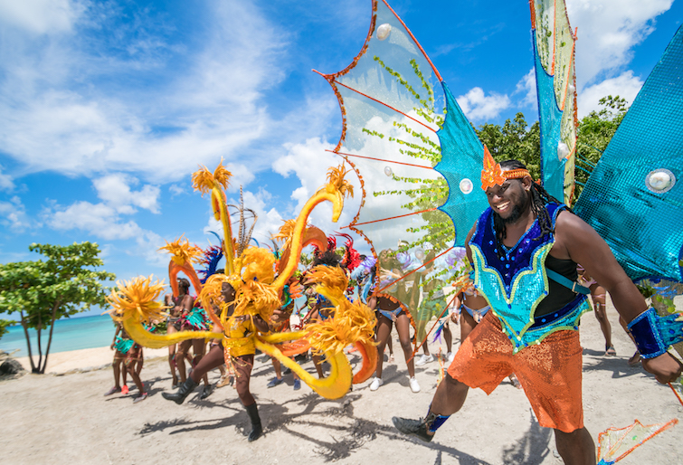 Grand Kadooment Day celebrates, part of Barbados Crop Over Festival. Photo Credit: © Barbados Tourism Marketing Inc.