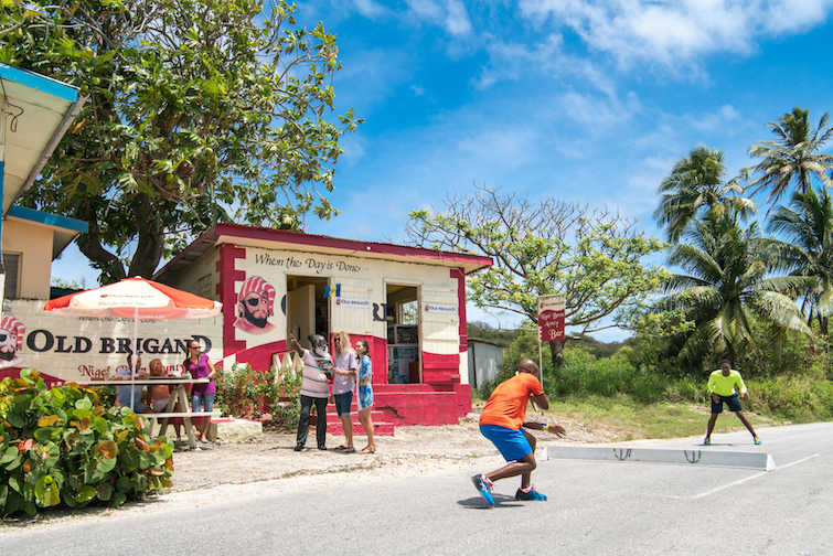 Nigel Benn Aunty Bar in Greenland, Barbados.  Photo Credit: © Barbados Tourism Marketing Inc.