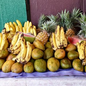 Fruits from Kingstown Public Market, St Vincent.