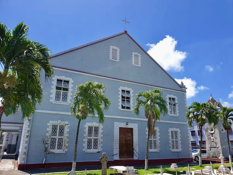 Kingstown Methodist Church, St Vincent.