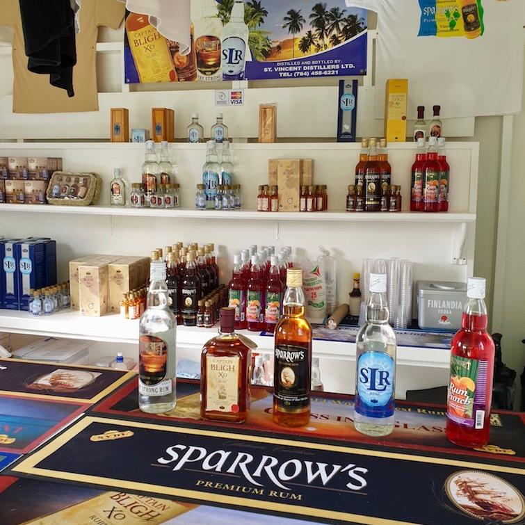 Rum from St Vincent Distillers Ltd.
