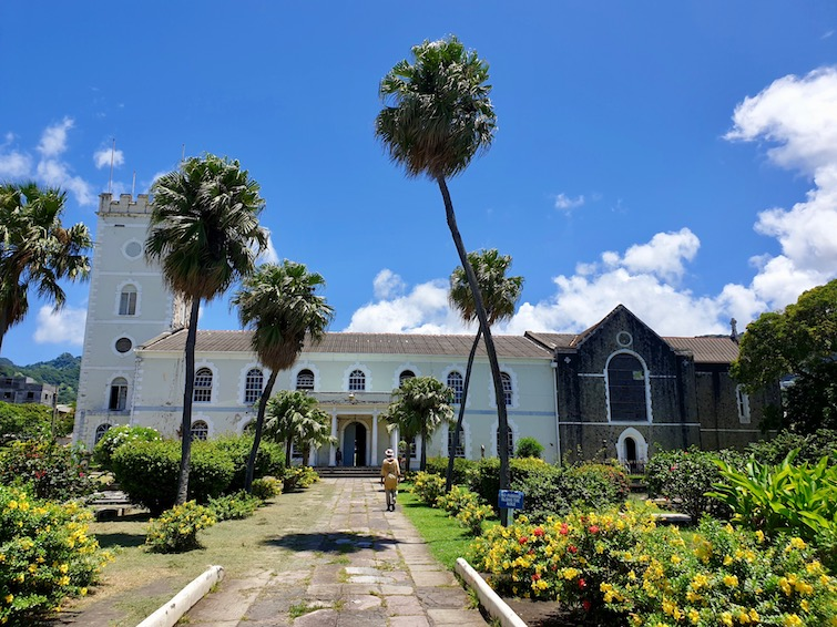 St George's Cathedral in St Vincent.
