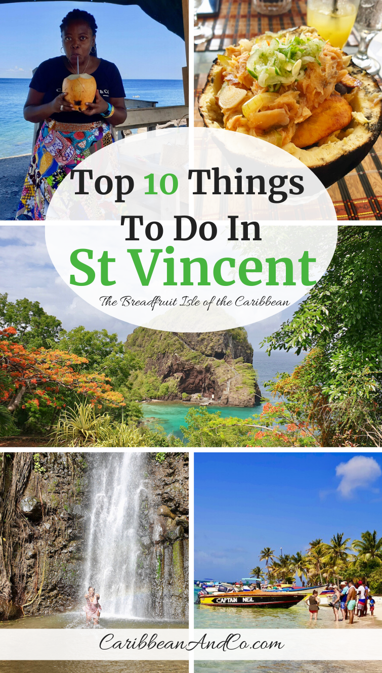 Check out these top ten things to do in St Vincent, the Breadfruit Isle of the Caribbean.