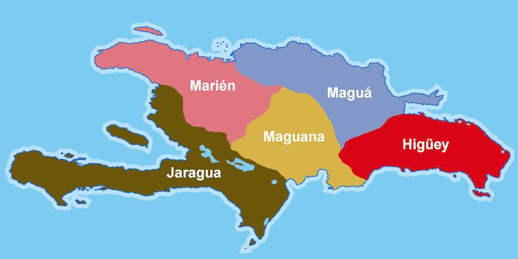 Chiefdoms of Hispaniola. Photo Credit: ©República Dominicana via Wikimedia Commons.