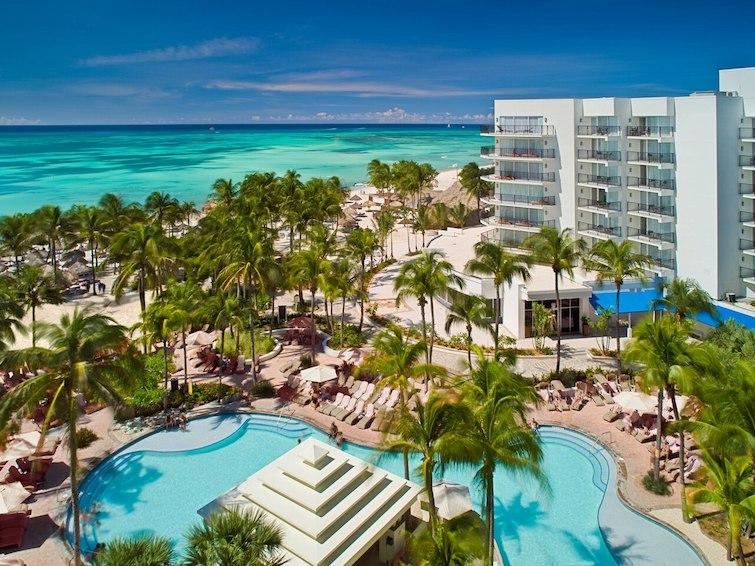 View of Aruba Marriott Resort & Stellaris Casino. Photo Credit: ©Marriott International.