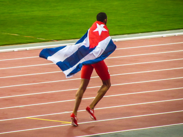 Cuban athlete at London 2021 Paralympic Games. Photo Credit: © Garry Knight via Flickr.com
