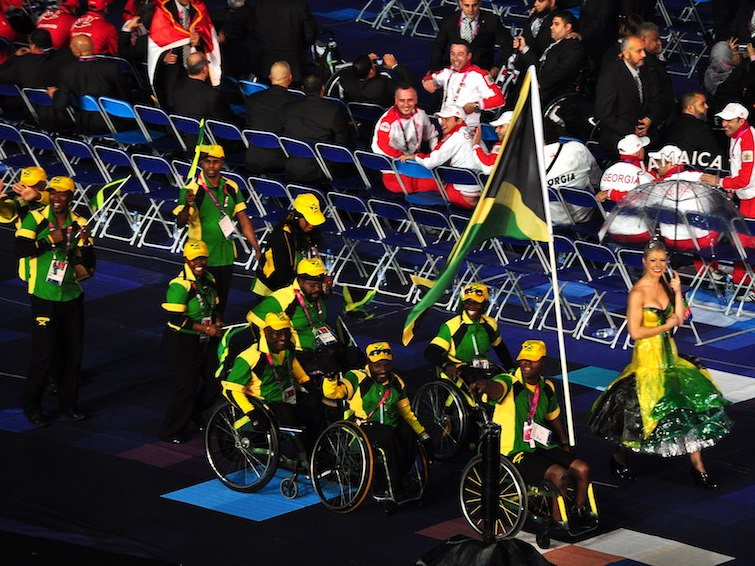 Jamaican Team at the London 2012 Paralympic Games. Photo Credit: © Caroline Granycome via Wikimedia Commons.