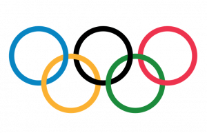 """The five-ringed symbol of the Olympic Games. Photo Credit"""": © International Olympic Committee."""