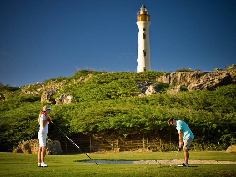 Tierra del Sol Golf Course near Aruba Marriott Resort & Stellaris Casino. Photo Credit: ©Marriott International.